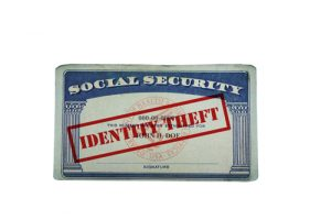 identity theft stamped social security card